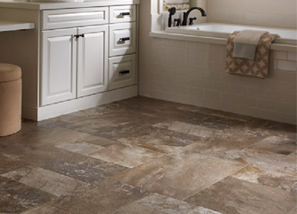 Congoleum luxury vinyl tile abbey carpet floor for Hardwood floors knoxville