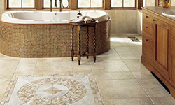 Bathroom mosaic tile