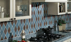 Kitchen tile mosaic